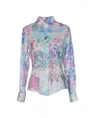 Льняная рубашка MOSAIQUE, XL, на рос. 48