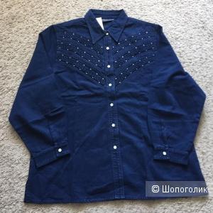 Рубашка  джинсовка Lafei-Nier XXXL