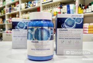 Увлажняющий крем-сыворотка с коллагеном FarmStay Collagen Water Full Moist Cream