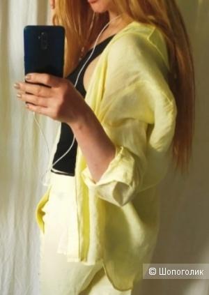 Льняная рубашка Mango размер S