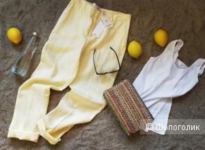 Льняные брюки Мango размер 38