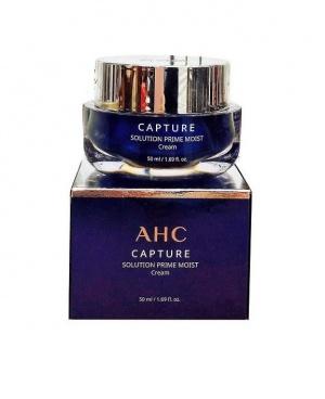 Увлажняющий антивозрастной крем для лица  AHC CAPTURE MOIST SOLUTION PRIME CREAM 50ml