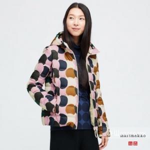 Ультралегкая пуховая куртка UNIQLO и Marimekko, L (M)