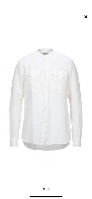 Льняная рубашка PAOLO PECORA, 41