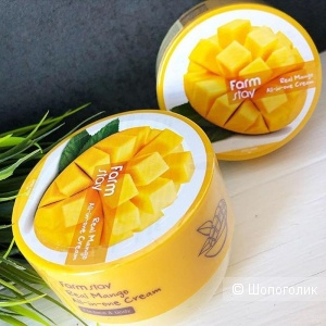 Крем для тела с маслом манго Farm Stay Real Mango All-in-one Cream 300 мл