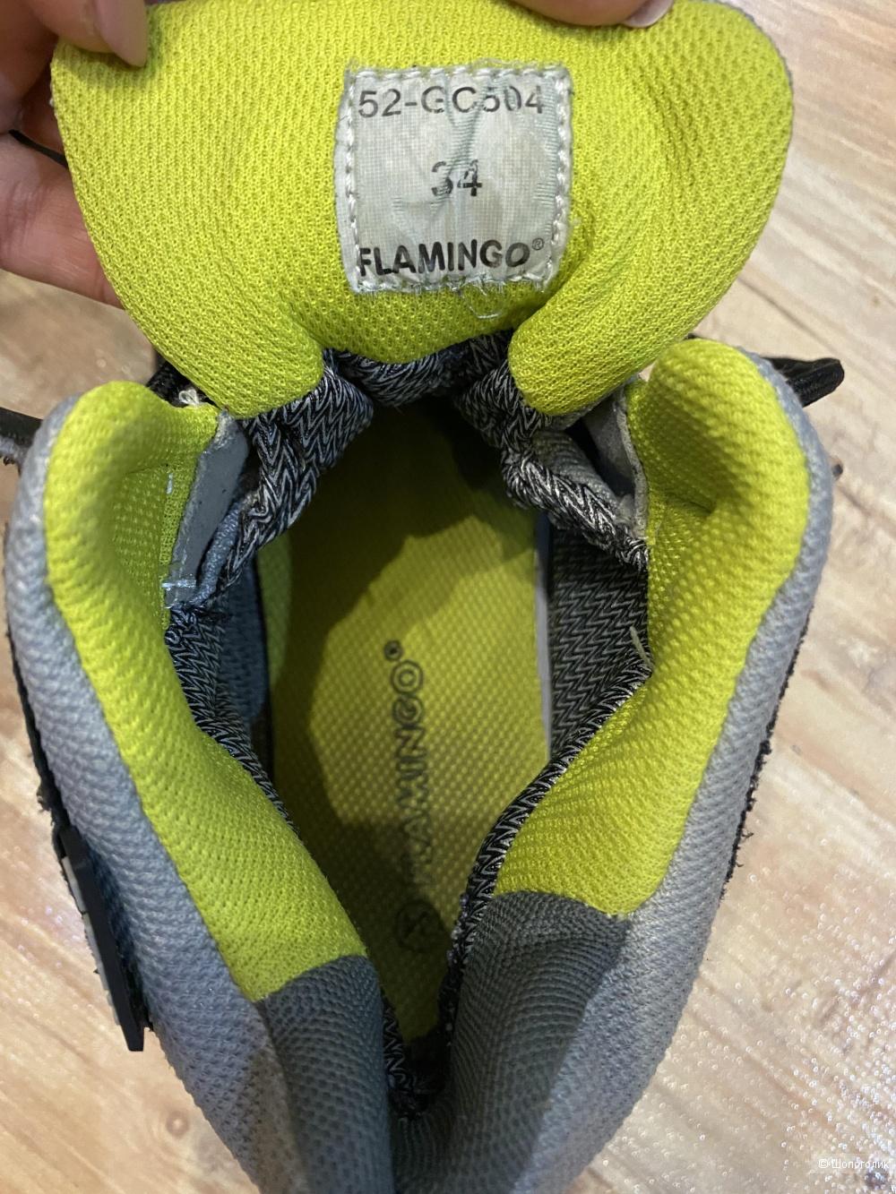 Зимние ботинки на мальчика Flamingo, р. 34