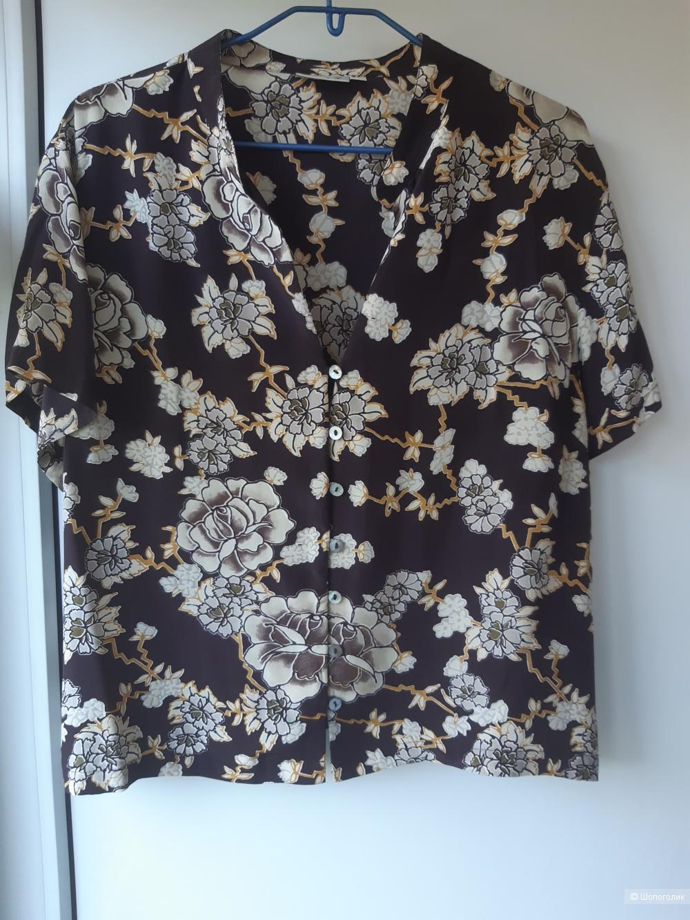 """Блуза шелковая """"EAST"""", р. L-XL"""