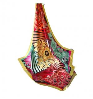 Палантин шелковый  Versace размер L