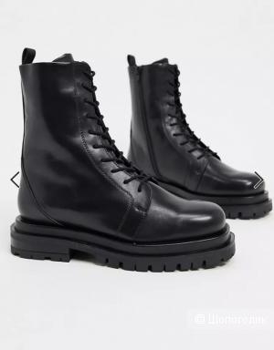 Кожаные премиум-ботинки ASOS DESIGN uk 5-eur 38