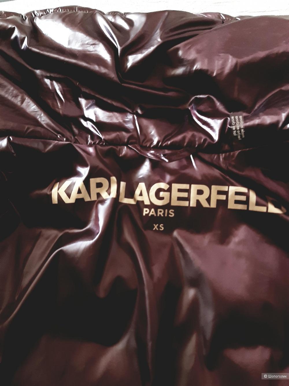 Пуховик  Karl lagerfeld, размер  XS/S