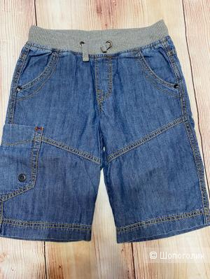 Джинсовые шорты на мальчика. Размер 8-9 лет