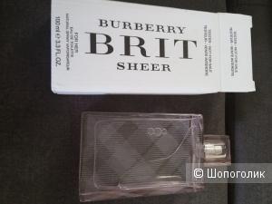 Burberry Brit туалетная вода  100 мл