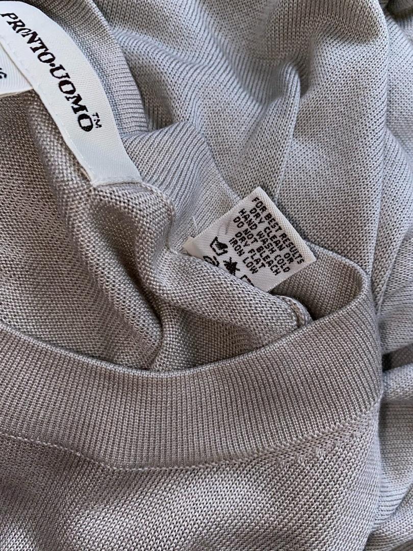 Шелковая футболка Pronto Uomo, размер 48-50