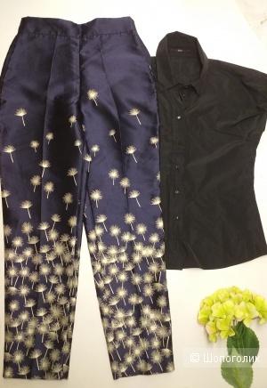 Сет -блузка Hugo Boss и брюки Zara, р. 40.
