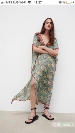 Платье Туника Zara s-m-l