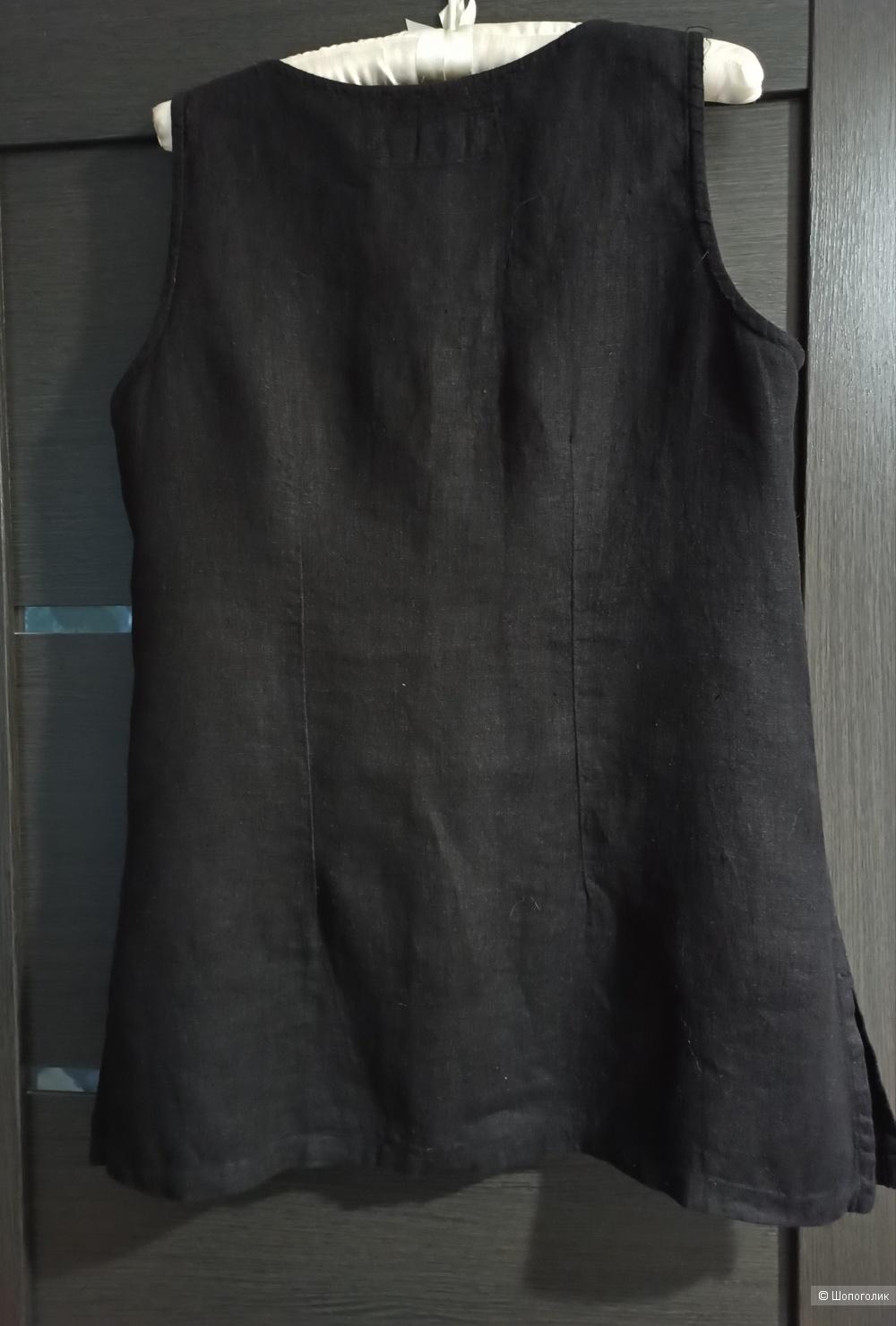 Блузка no name 100% лен. Размер М