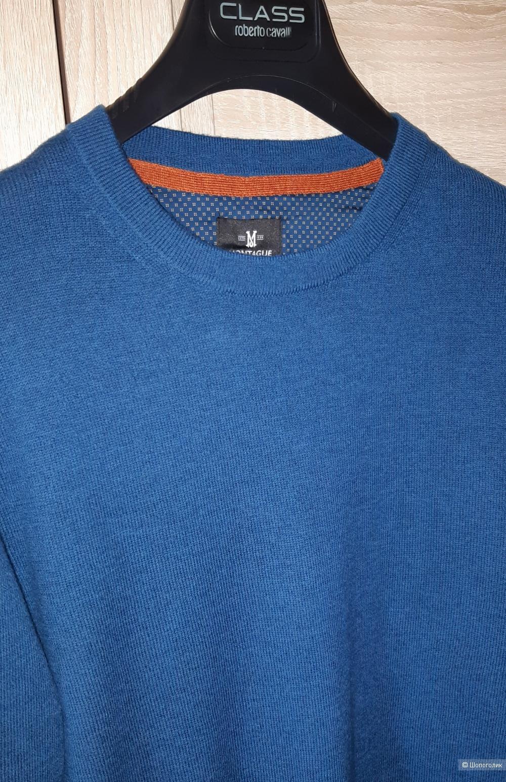 Шерстяной пуловер montague burton, размер m/l