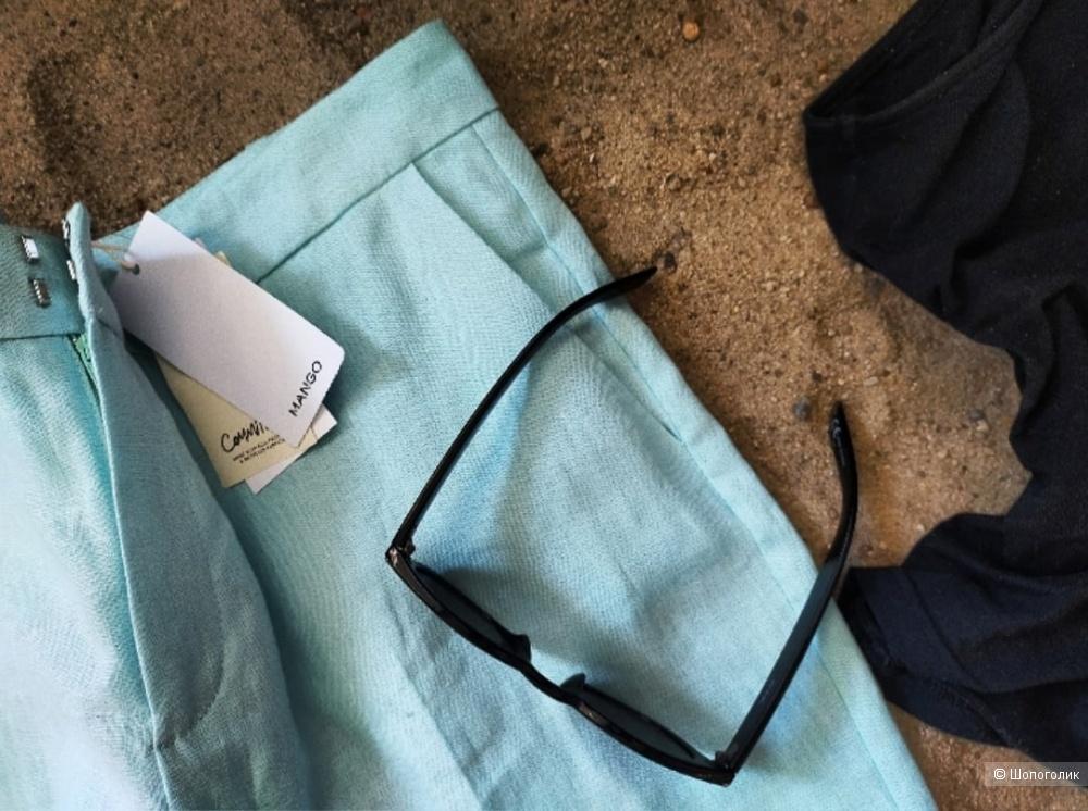 Льняные брюки Мango размер 40