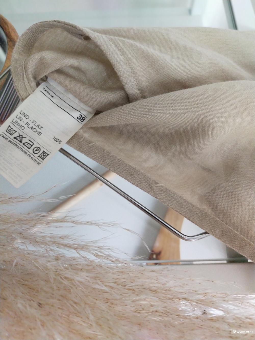 Льняная юбка Benetton размер 38