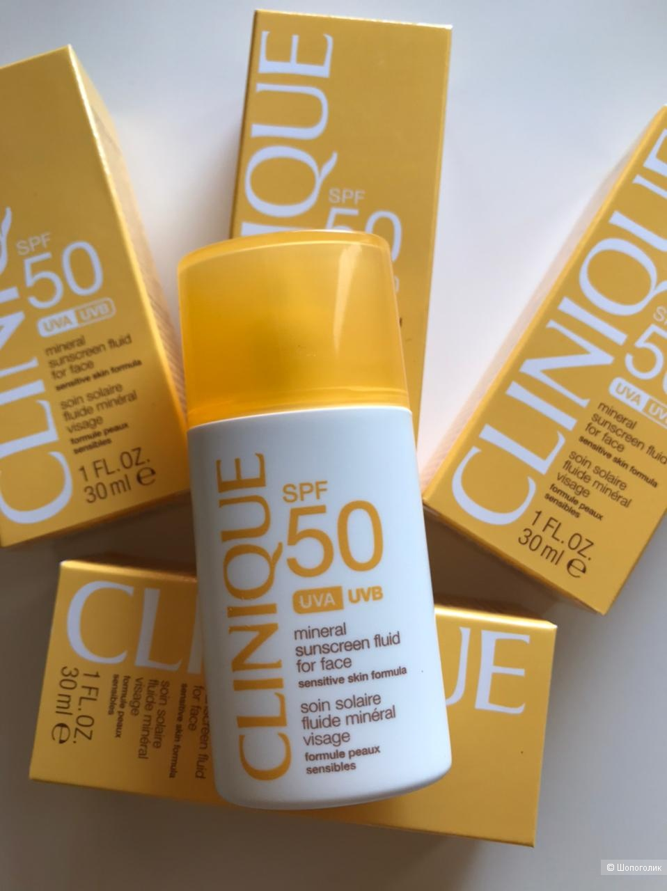 Солнцезащитный крем Clinique Mineral Sunscreen SPF 50