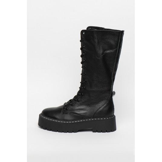 Ботинки, сапоги, Steve Madden Vroom, кожаные, р.39