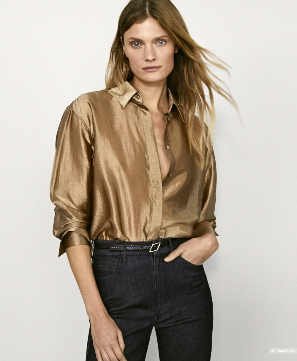 Блуза Massimo Dutti (42)46-48 размер.