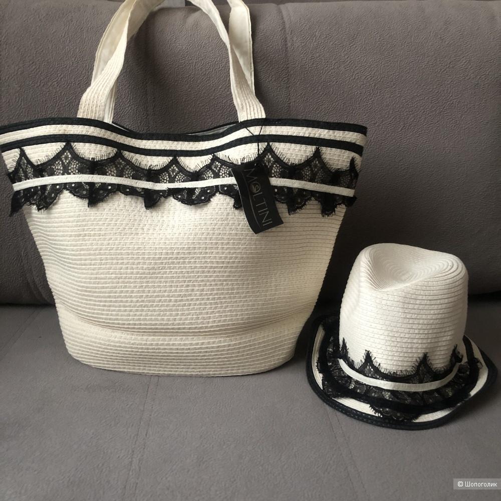 Комплект: сумка и шляпа  MOLTINI