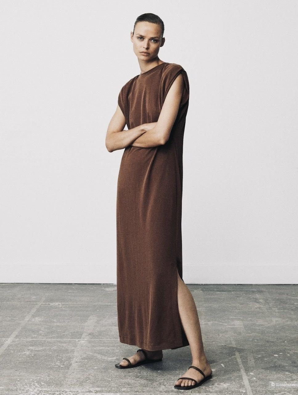 Платье Massimo Dutti Xs - S ( черное)