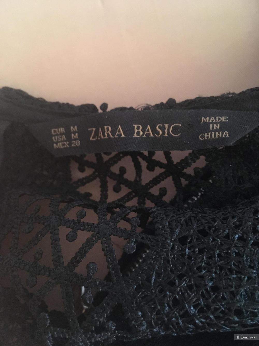 Кружевное платье Zara размер S