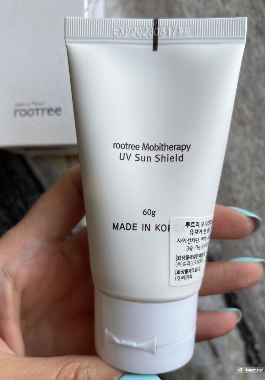 Солнцезащитный крем для  лица rootree Mobitherapy UV sun shield