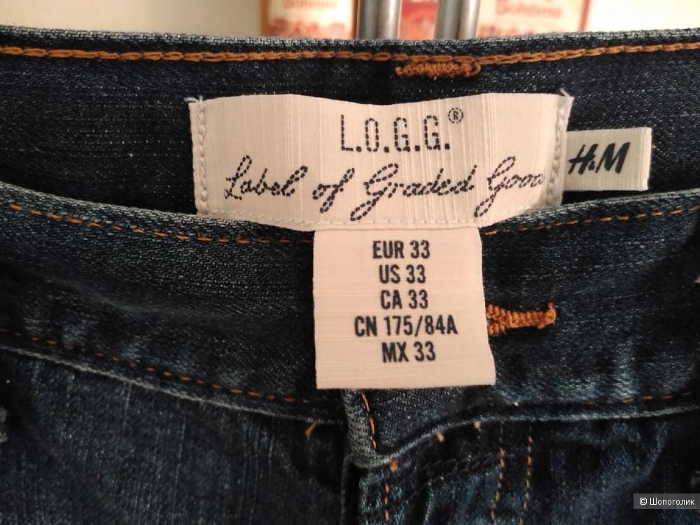 Шорты L.O.G.G. H&M. Размер: 33 (на 48-50).