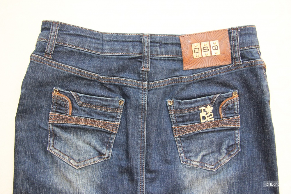 Джинсовая юбка Dsquared 2 размер 44-46(М)