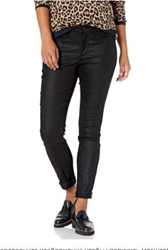 Джинсы NYDJ  Alina Skinny Faux Suede Jeans р 14 P    на наш 52-56