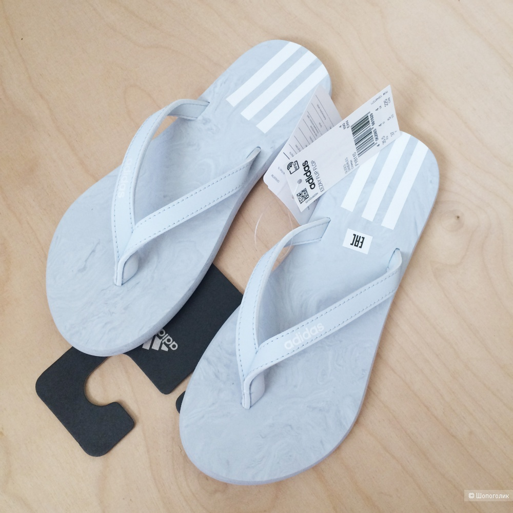 Сланцы Adidas Eezay размер 35,5, UK4, 23,5 см