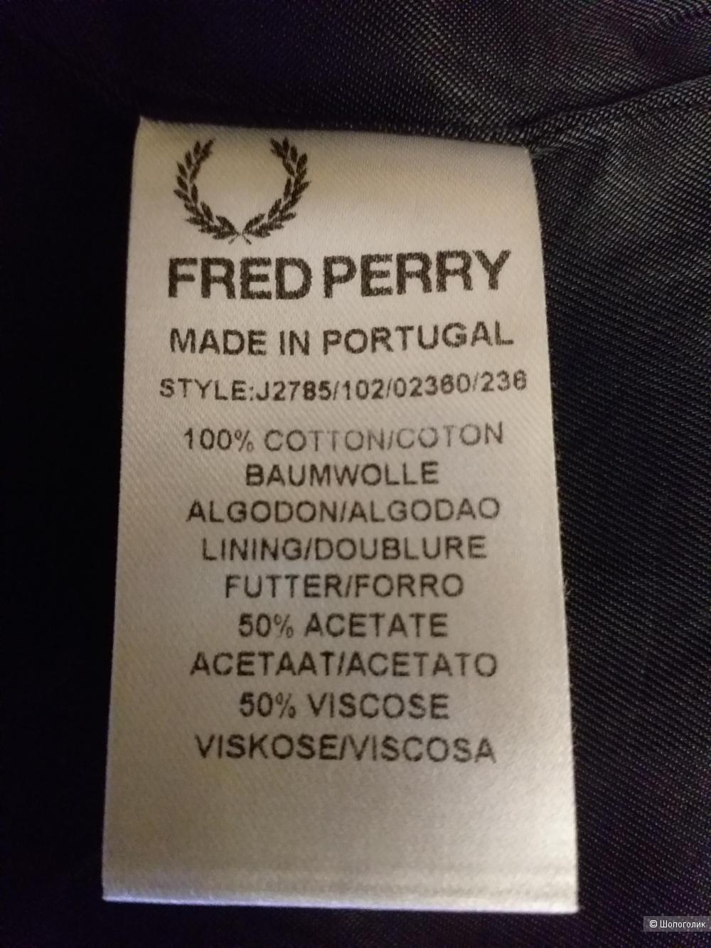 Ветровка Fred Perry, р.46