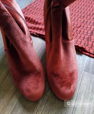 Сет платье pepaloves + ботинки Steve Madden размер 38,5