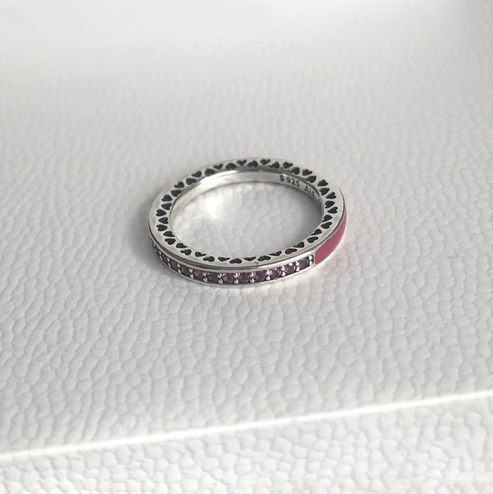 Кольцо Pandora р.48