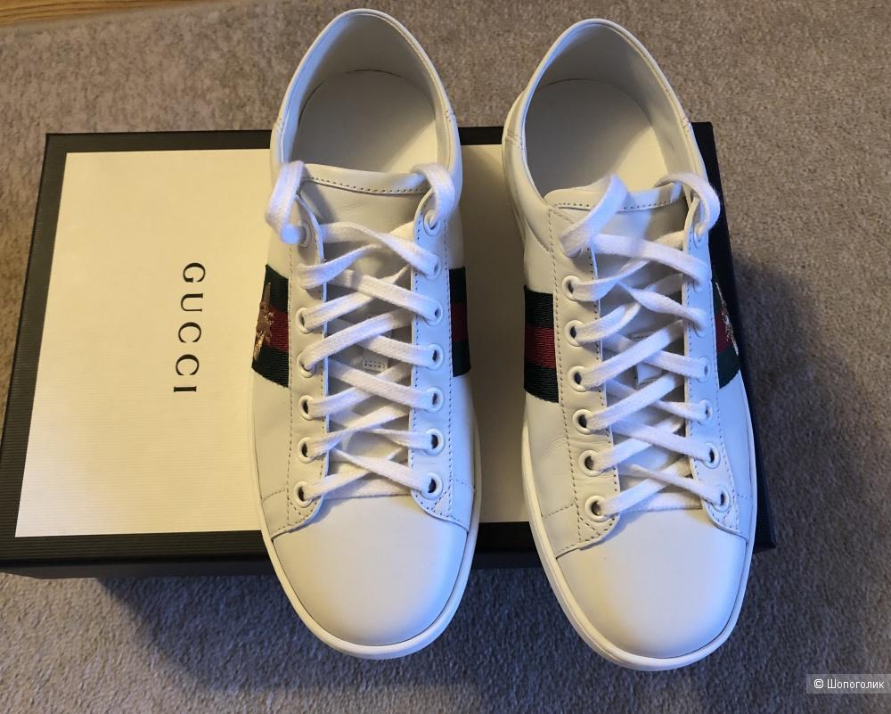 Кеды Gucci размер 36