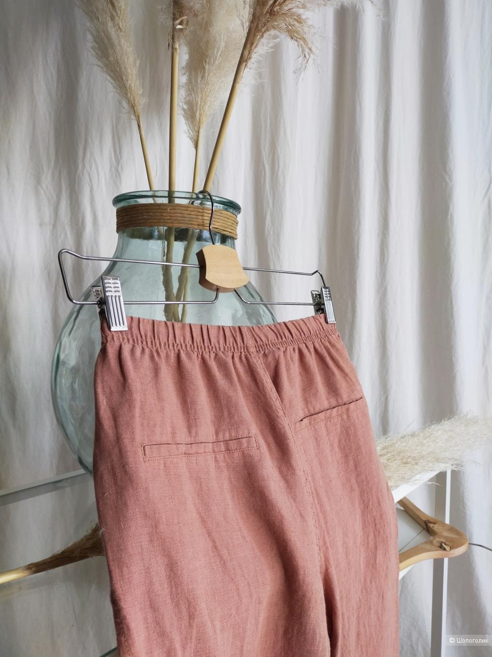 Льняные брюки  Mango размер XS