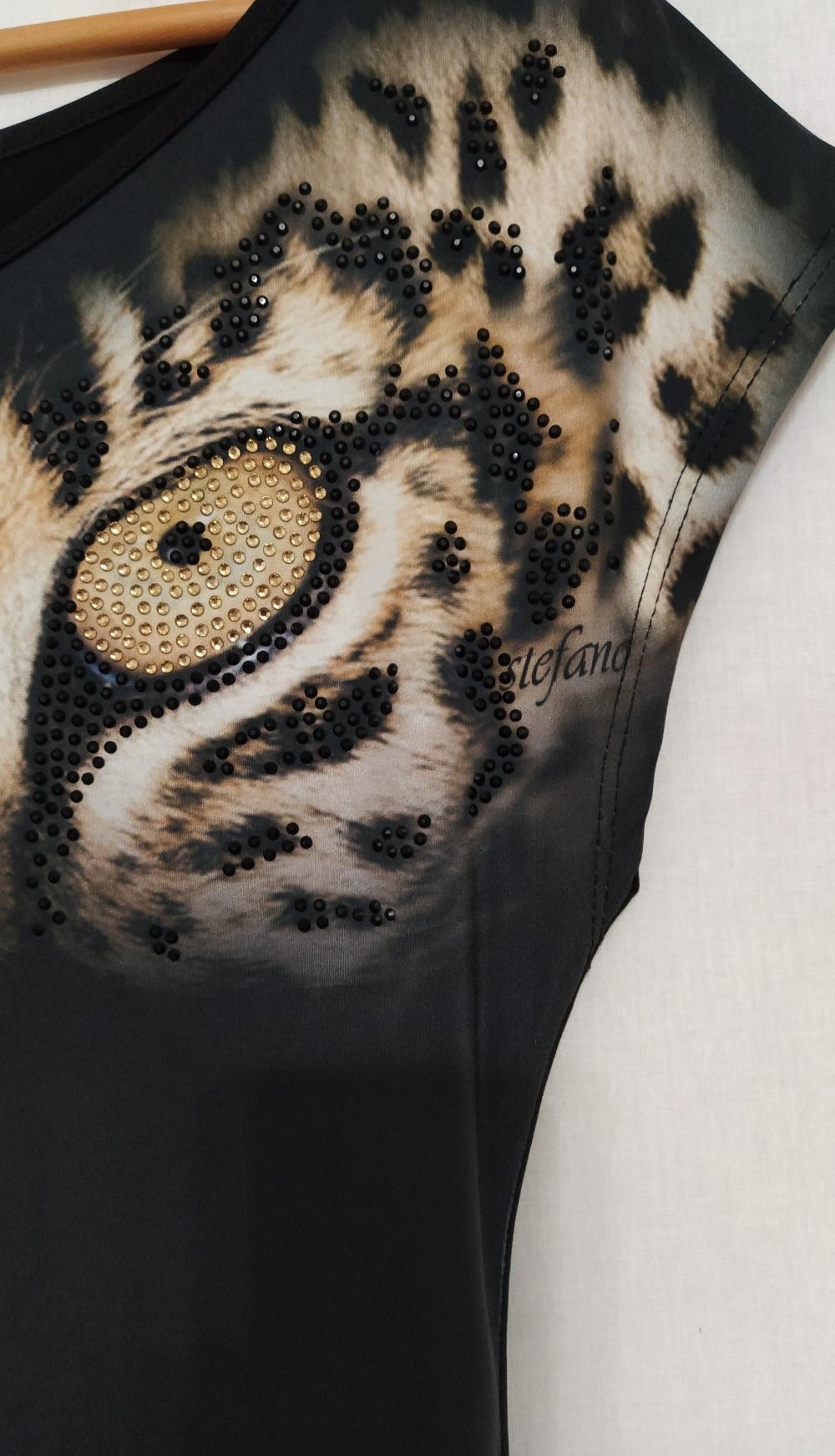 Футболка с глазами леопарда, М