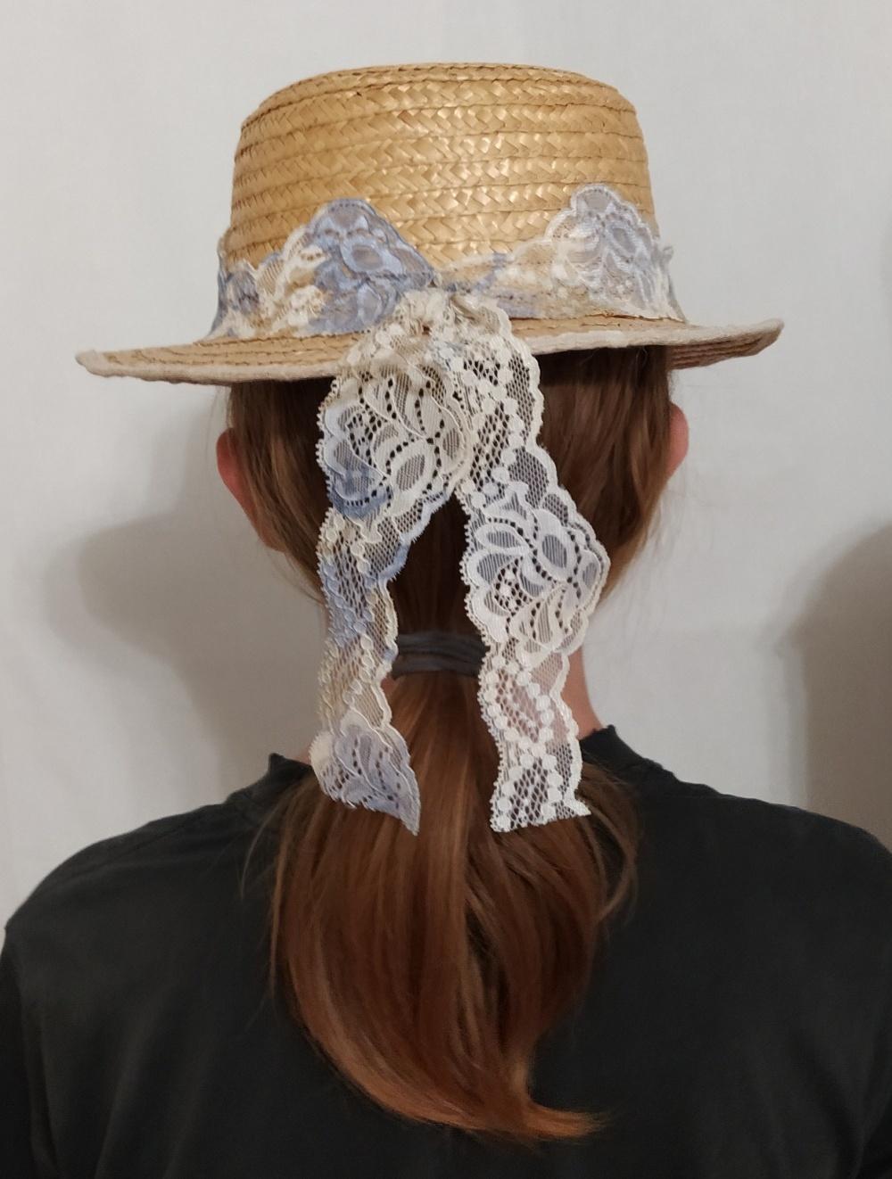 Соломенная шляпа, no brand, one size.