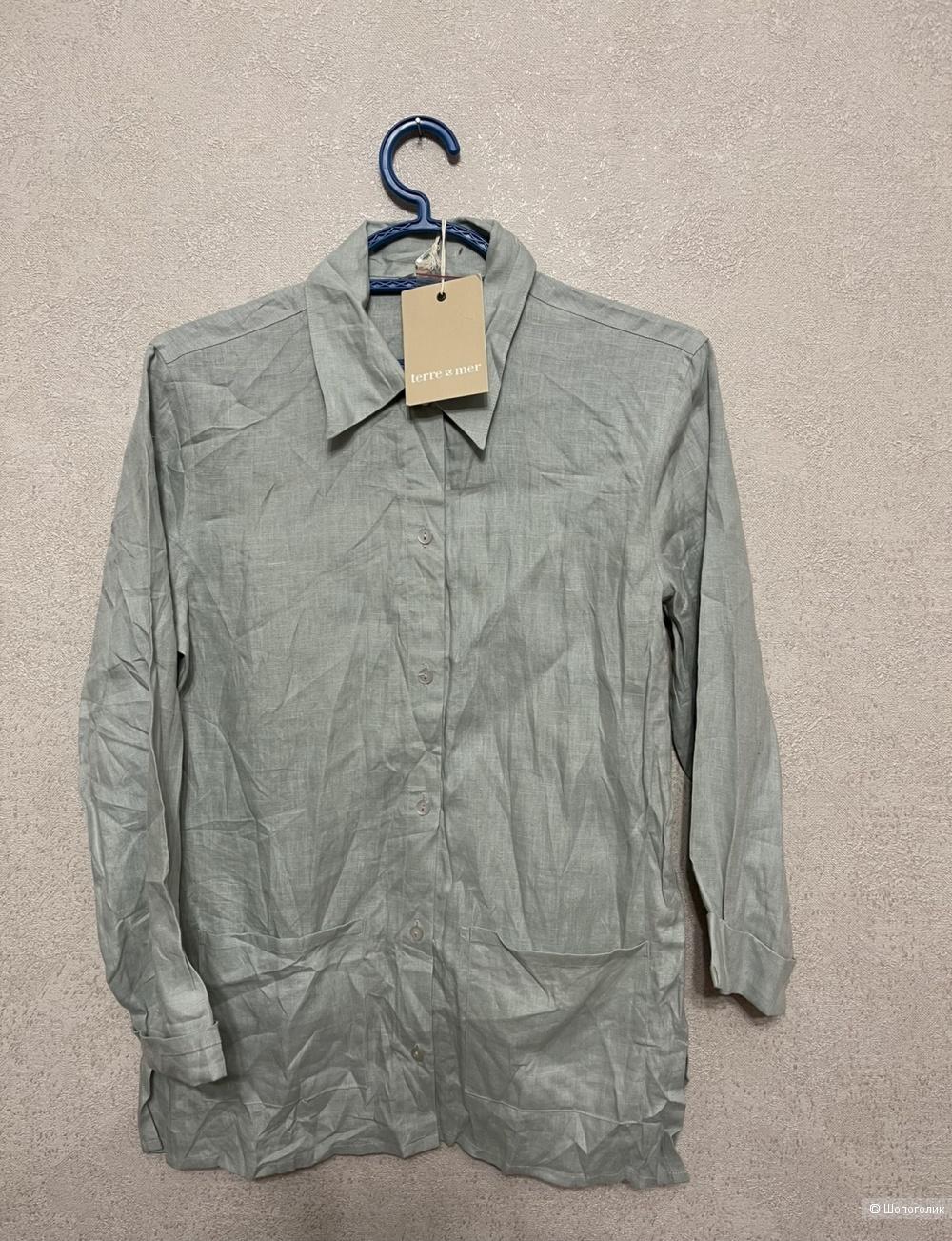 Рубашка Terre&mer размер 44