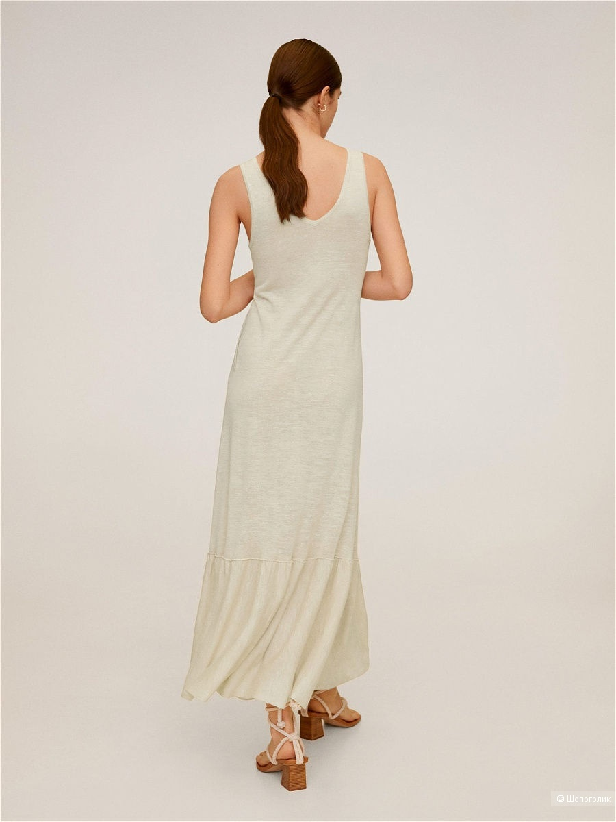 Платье Mango линия Linen размер S