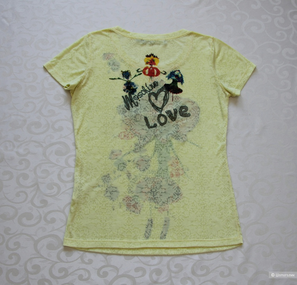 Футболка Love Moschino размер 44-46(М)