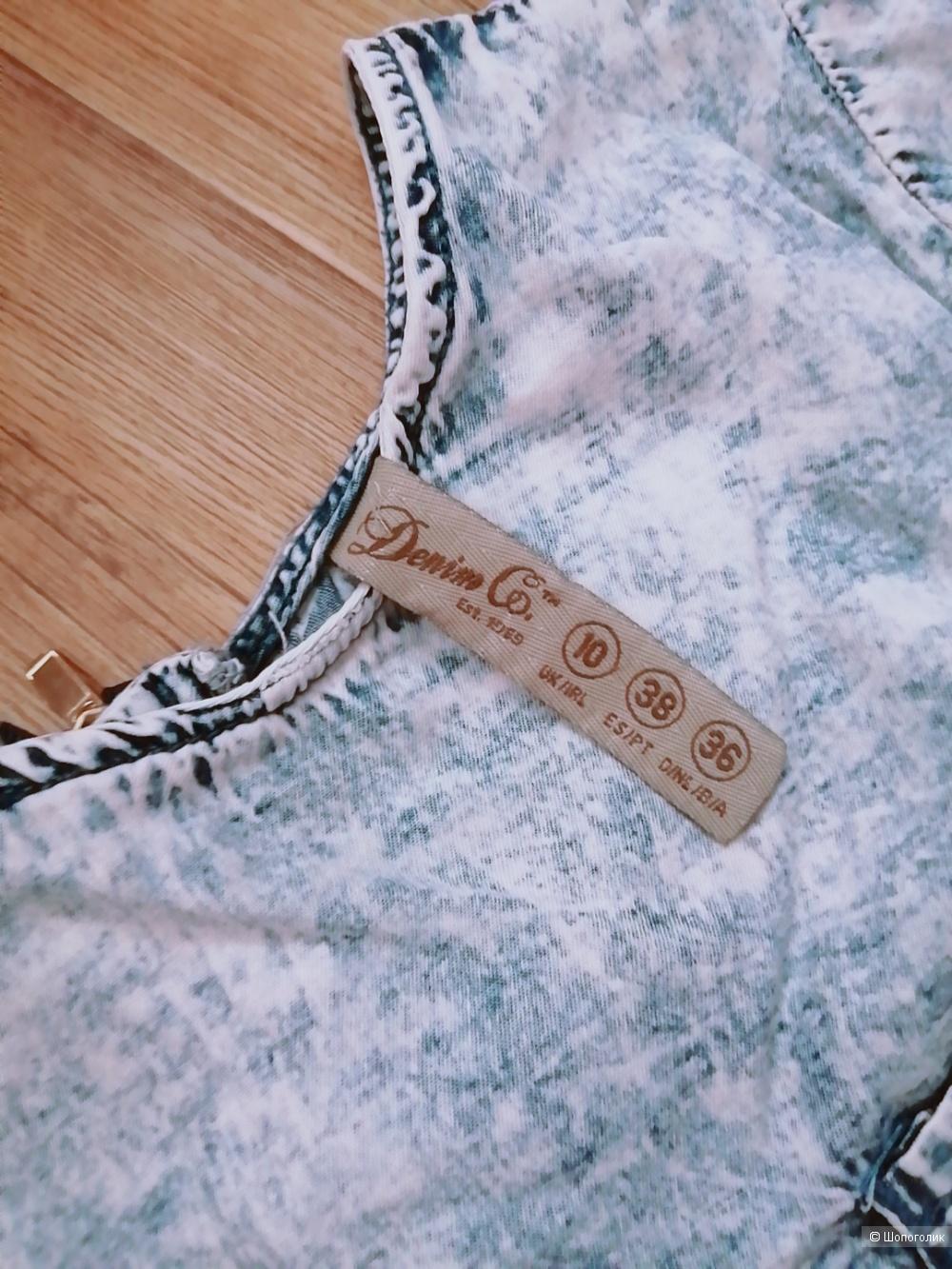 Платье DENIM CO, РАЗМЕР 36(42-44)