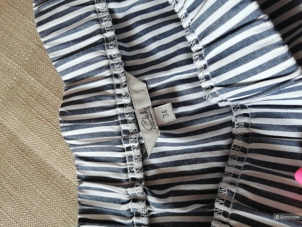 Блузка- рубашка.  CLOCKHOUSE, размер S( XS)
