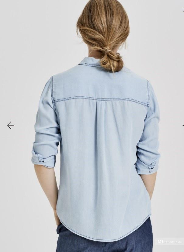 Джинсовая блузка  Opus размер 38 ( на 46-48)