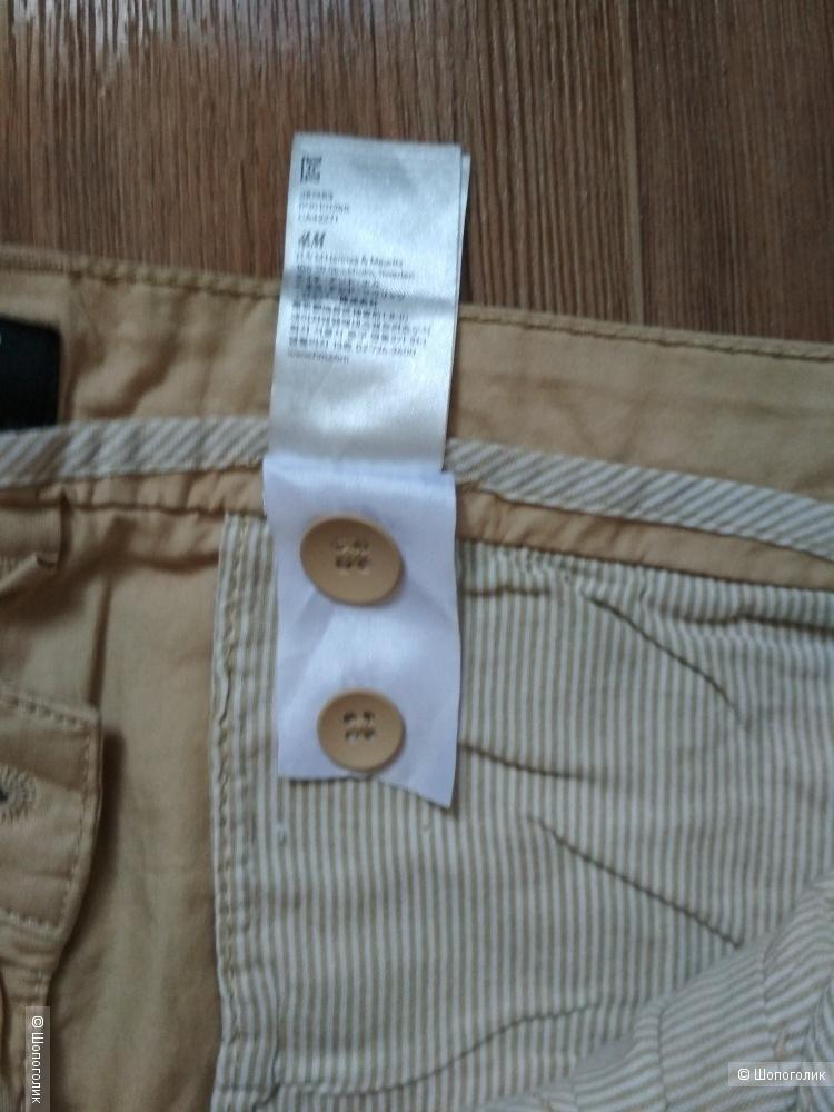 Сет чиносы H&M и футболка tchibo размер 48/50