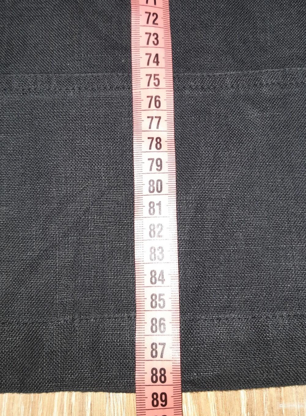 Льняная юбка marks&spencer, размер l