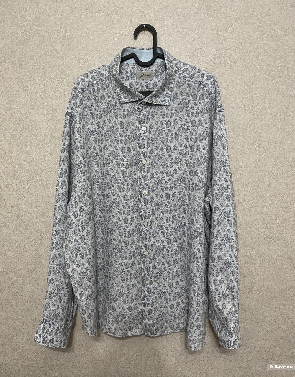 Рубашка Brioni размер 56/58
